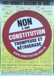 constitution,affiches,campagne,votation,geneve,14 octobre,