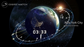 cosmic watch,front froid,météo,appli,