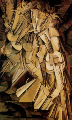 Duchamp Nude Descending a Staircase, 1912.jpg