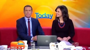 sexisme,discrimination,today,channel nine,lisa wilkinson,karl stefanovic,habillement,critiques,